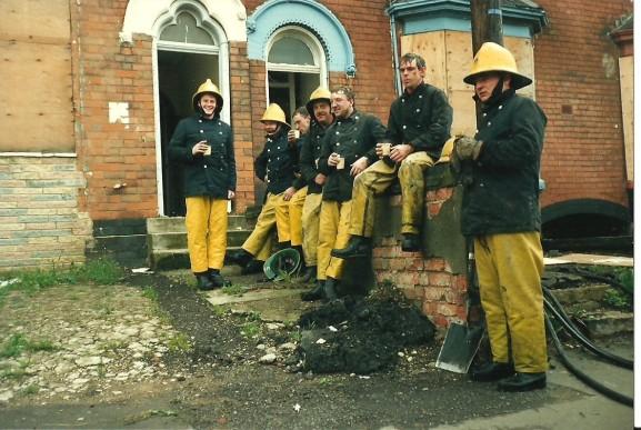 When Firefighters were Firemen