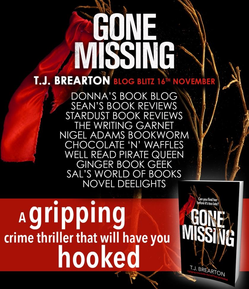 Gone Missing - Blog Tour