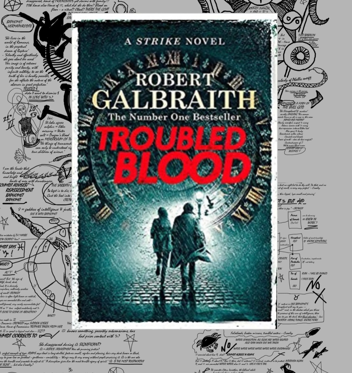 TROUBLED BLOOD Robert Galbraith